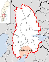Askersund in Örebro county