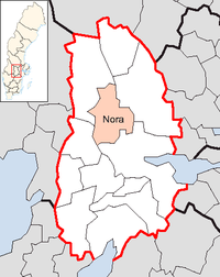 Nora in Örebro county