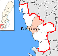Falkenberg in Halland county