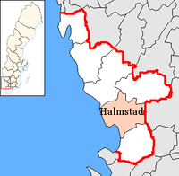 Halmstad in Halland county