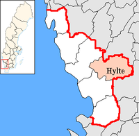 Hylte in Halland county