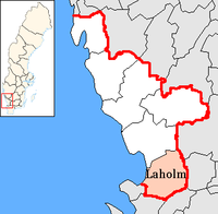 Laholm in Halland county