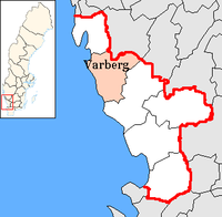 Varberg in Halland county