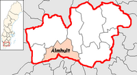 Älmhult in Kronoberg county