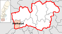 Markaryd in Kronoberg county
