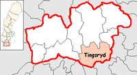 Tingsryd in Kronoberg county