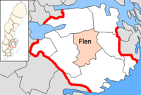 Flen in Södermanland county