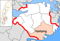 Nyköping in Södermanland county